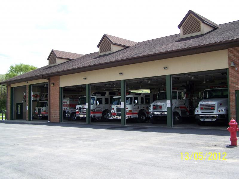 Forest View Gang Mills Fire Department Apparatus Bay